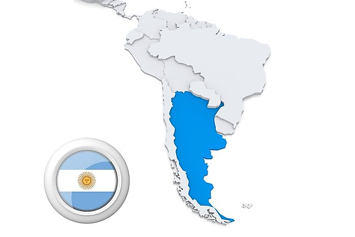 What Continent Is Argentina In? - WorldAtlas.com