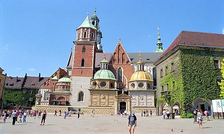 #4 Wawel Castle and Cathedral -