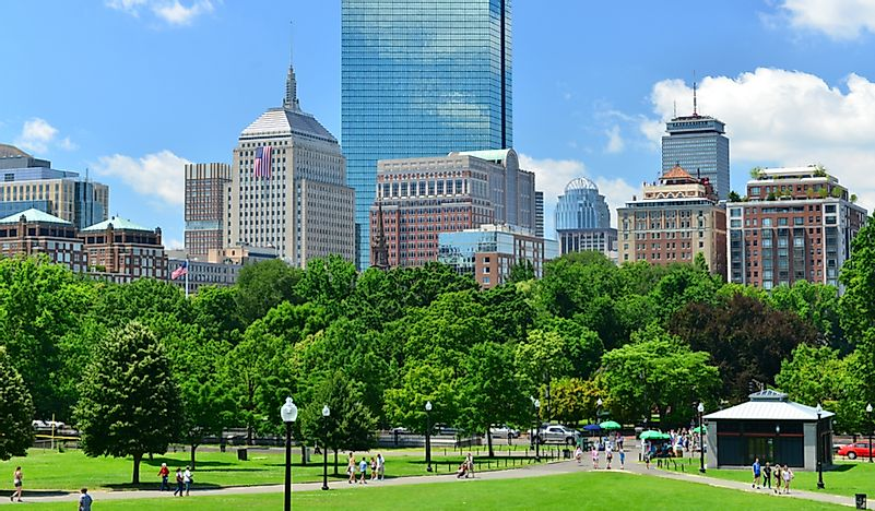 Which US City Is Home To America's Oldest Public City Park?