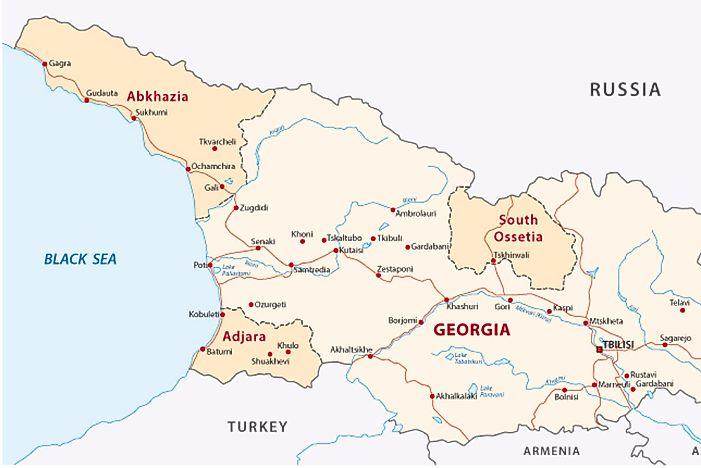 Where is Abkhazia WorldAtlascom