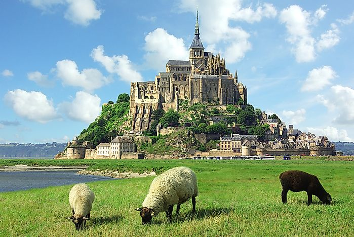 #1 Mont Saint Michel - France