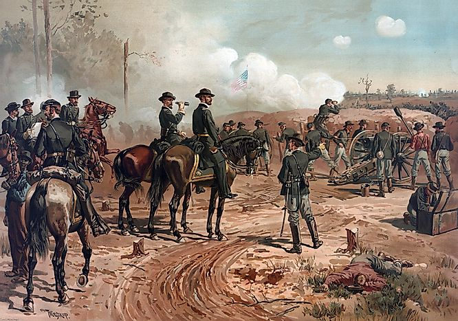 #10 Battle of Atlanta (1864) -