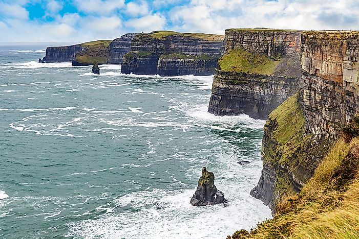 The beautiful Cliffs of Moher.