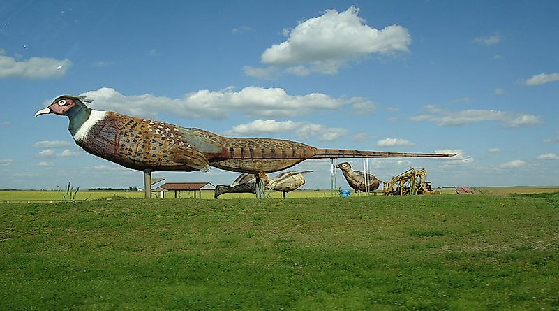 The Enchanted Highway of North Dakota