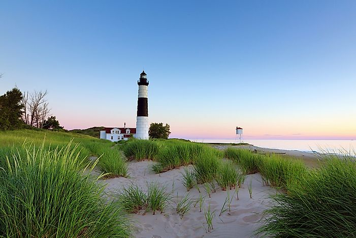 The Story of 10 Michigan Lighthouses