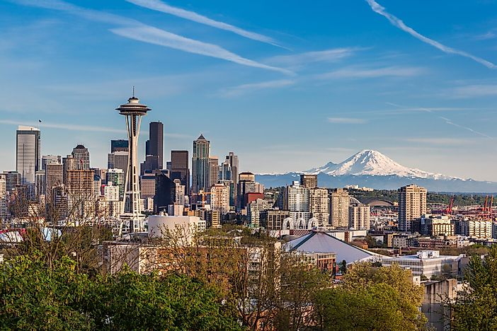 #4 Seattle - The Greenest Cities in North America