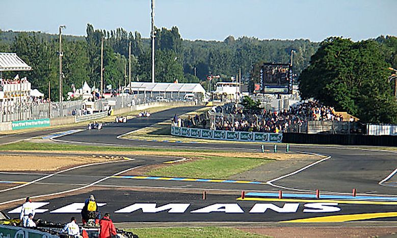 Motor Racing Venues In The World By Capacity
