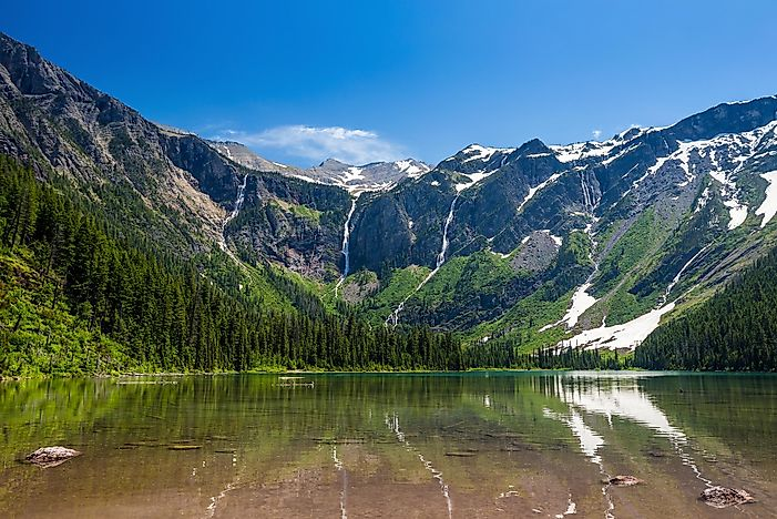 Avalanche Lake, Montana - Unique Places around the World