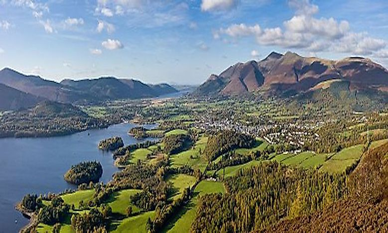 #7 Landscape Of The Lake District -