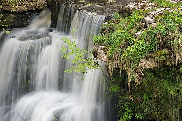#9 Aysgarth Falls - the Most Famous Waterfall in England