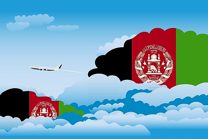 What is the National Airline of Afghanistan?