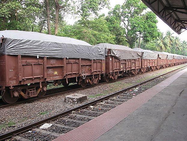 Highest Railway Cargo Traffic In The World Worldatlas Com
