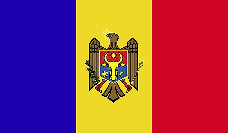 Image result for Moldova flag