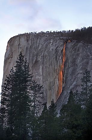Horsetail Falls, California: Unique Places around the World