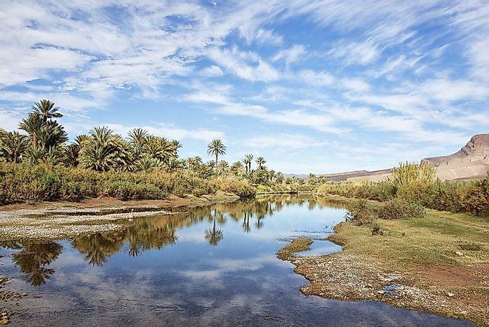 Longest Rivers In Morocco WorldAtlascom - Importance of rivers