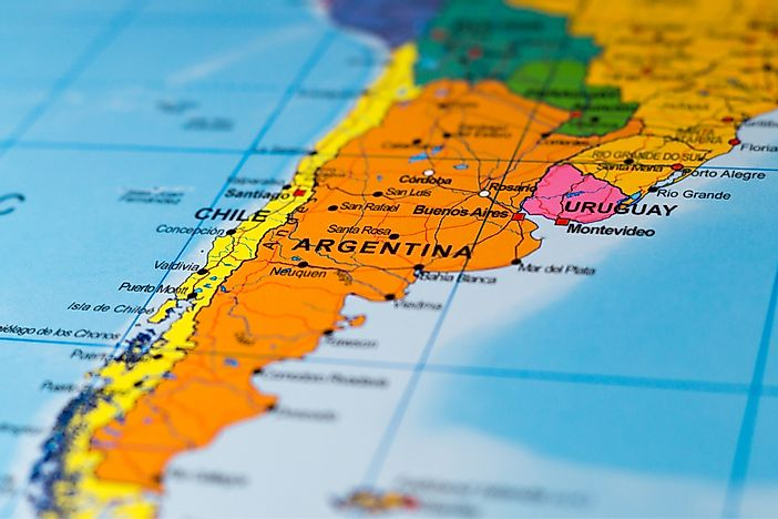 Fun facts about argentina worldatlas fun facts about argentina map of argentina gumiabroncs Images