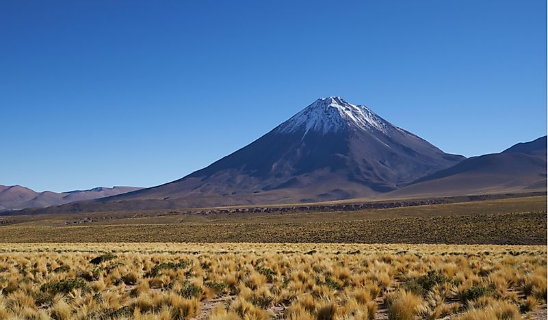 The 10 Highest Volcanoes In Chile