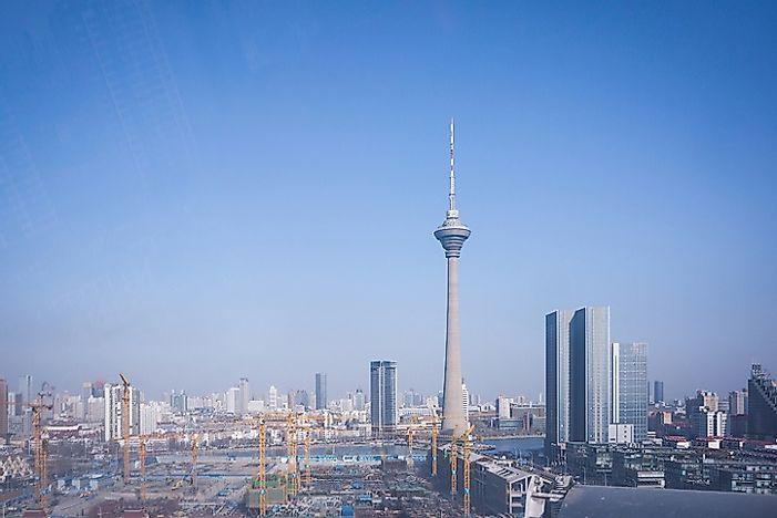 10 Tallest Towers in the World - WorldAtlas.com