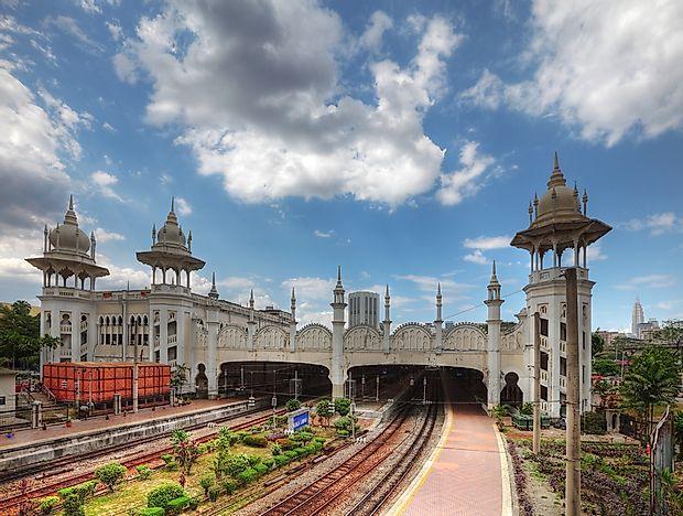 Самые красивые железнодорожные станции в мире.