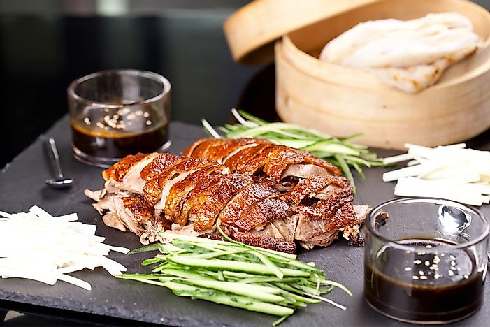 What is the National Dish of China?