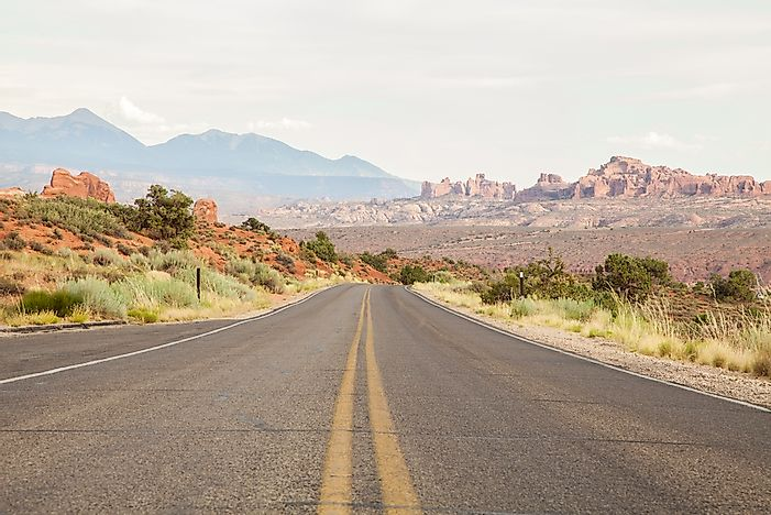 The roads of the wild, wild west.
