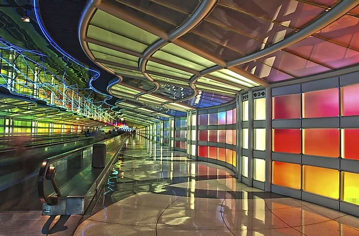 #7 Chicago O'Hare International Airport - 70.0 Million Passengers - The Busiest Airport in the World