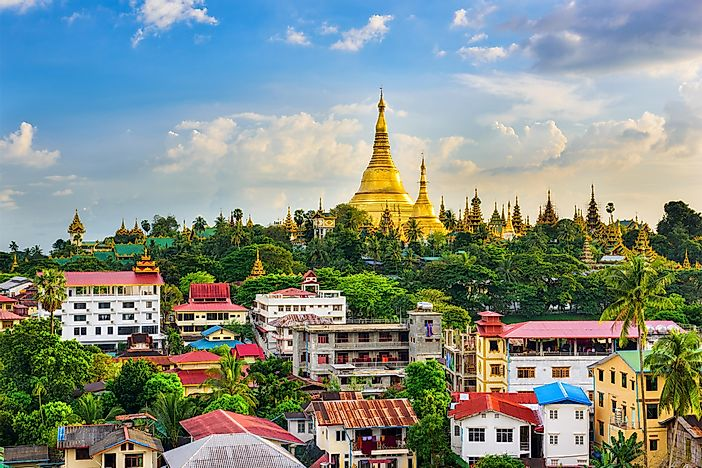 What Is The Capital City Of Myanmar?