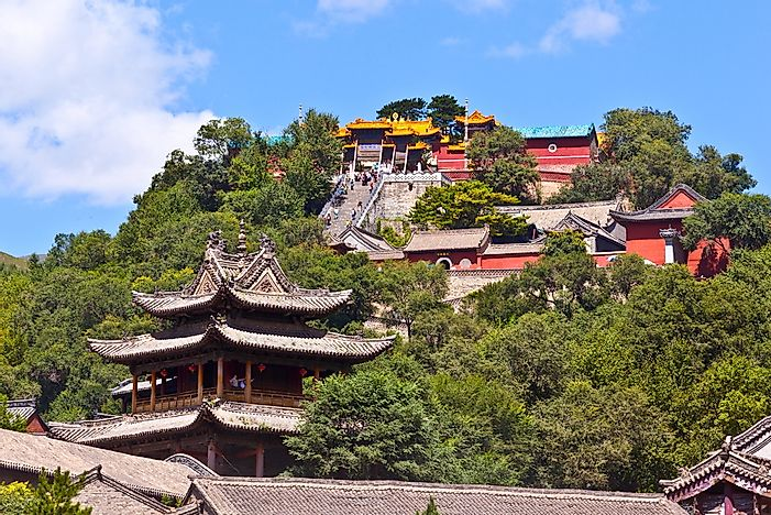 Mount Wutai, China.