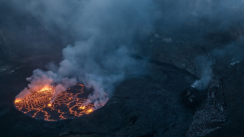 Where Is The World's Largest Lava Lake?