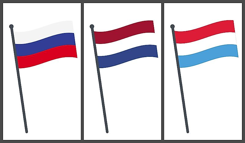 Country Flags That Resemble One Another