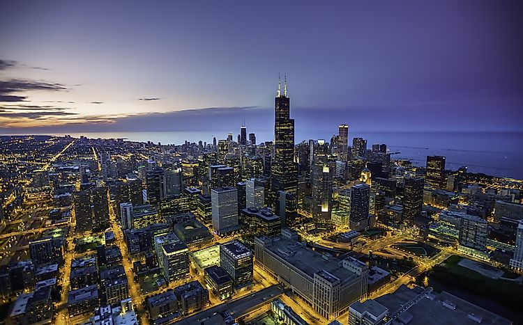 #3 Chicago-Naperville-Elgin, Illinois-Indiana-Wisconsin - Richest Cities in the US