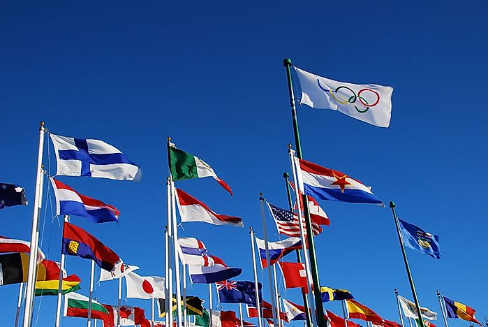 Which Continent Has Never Hosted the Olympic Games?