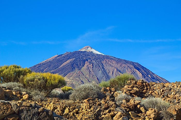 #5 Teide - One of the World's Largest Volcanoes
