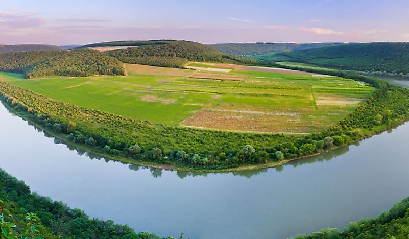 #4 The Dniester River Canyon
