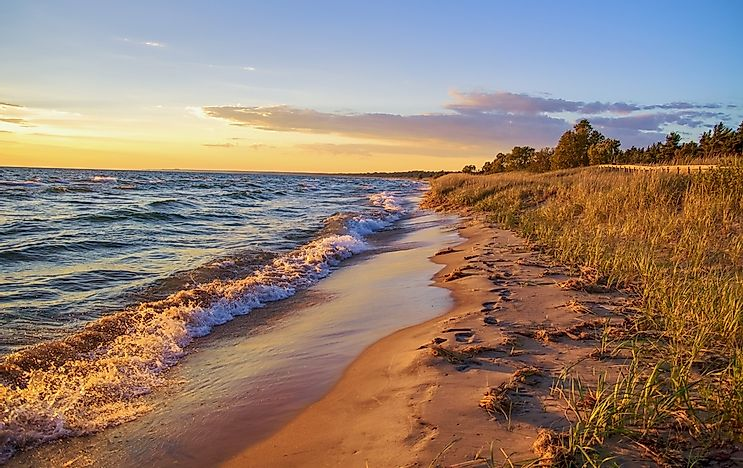 #4 Lake Huron - 59,596 Square Kilometers