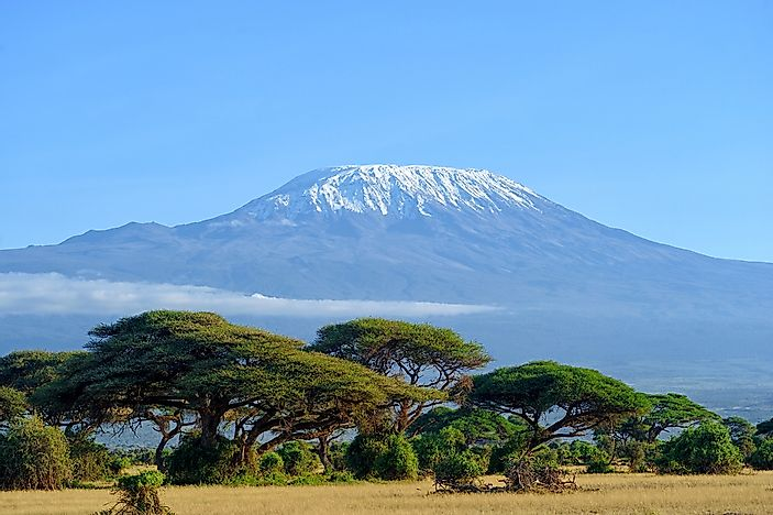 Mt Kilimanjaro On World Map.Where Is Mount Kilimanjaro Worldatlas Com