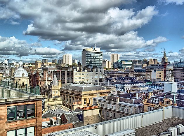 #2 Glasgow, Scotland (5.1 homicides per 100,000 people)