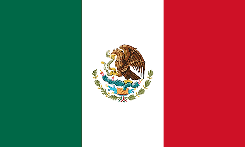 What Do The Colors Of The Mexican Flag Mean Worldatlas
