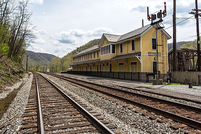 Ghost Towns of America: Thurmond, West Virginia