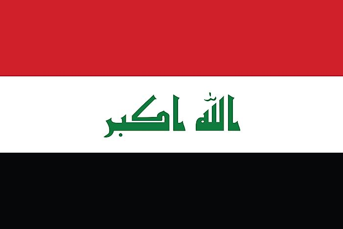 What Do The Colors And Symbols Of The Flag Of Iraq Mean