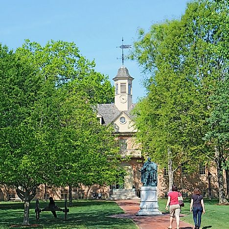 College of William & Mary - Educational Institutions Around the World