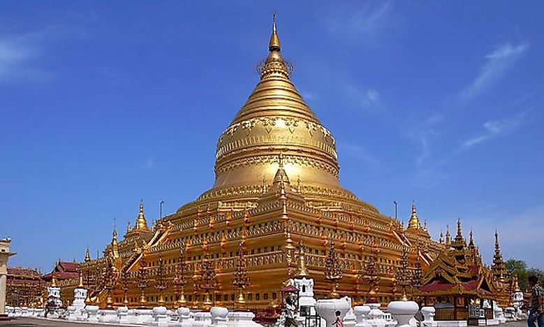 Pyu Kingdom Cities In Myanmar (Burma)