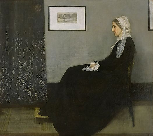 #10 Whistler's Mother (Musée d'Orsay, Paris)