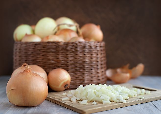 The Top Onion Producing Countries In The World