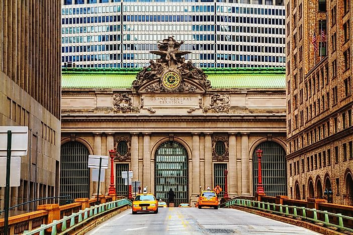 #5 Grand Central Terminal - the Busiest Train Station in the United States