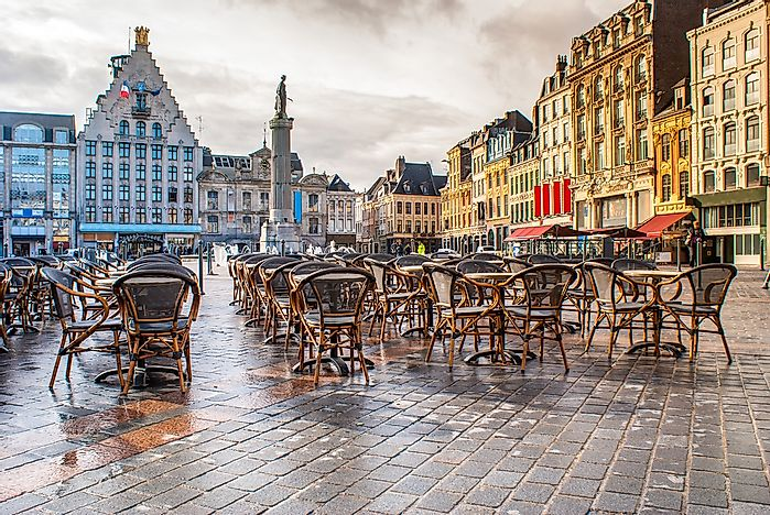 Lille, a city in Hauts-de-France.