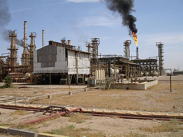 #5 Iraq - 150 Billion Barrels - The World's Largest Oil Reserves By Country