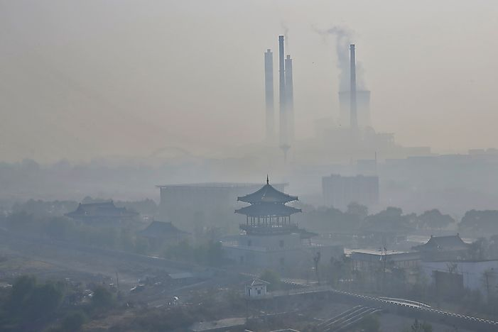 The Most Polluted Cities in China