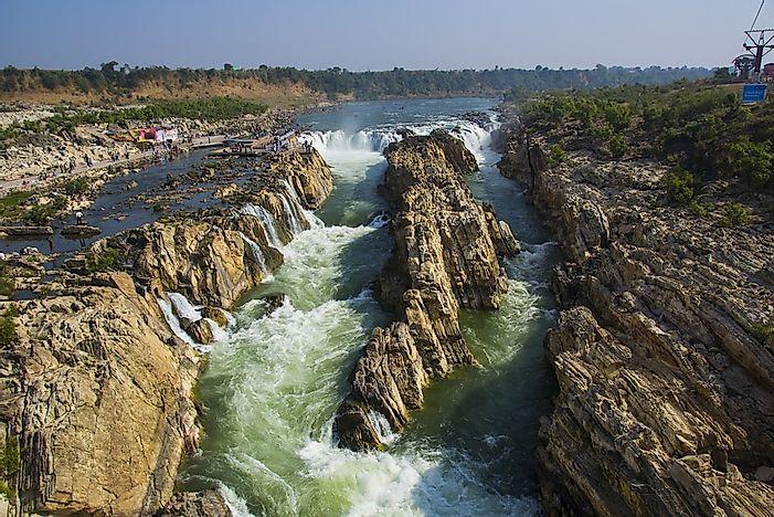 The Longest Rivers in India - WorldAtlas.com