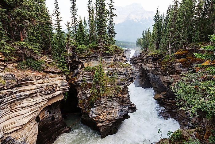 Johnston Canyon.